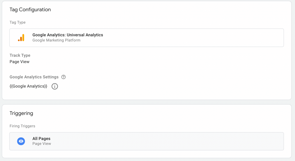 Step 5 on how to add Google Analytics to GTM.