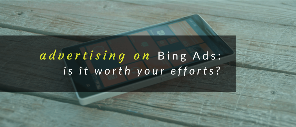 Header image for Bing Ads article.