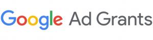 Logo of Google Ad Grants.