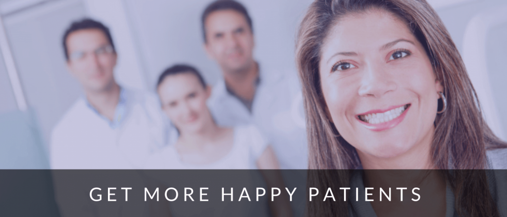 Image of happy dentist patients thanks to Google Ads.