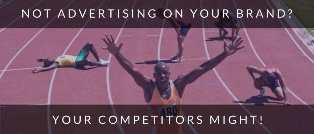 Winning athlete to show how competitors advertise on your brand in Google Ads.